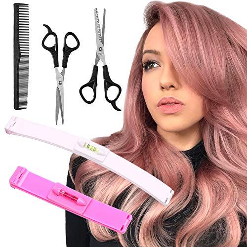 YMHPRIDE 5 Pcs Hair Cutting Tools, Professional Home Hair Cutting Clips,...
