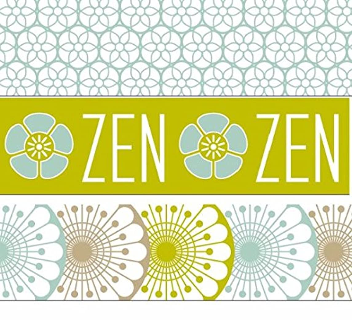 Artemio Set of 5?Zen Masking Tape, Paper, Multicoloured, 5.5?x 5.5?x 12.5?cm