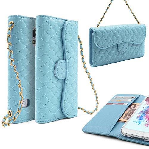Urcover - Funda para teléfono móvil Compatible con Samsung Galaxy S5, con Tarjetero, Cartera: