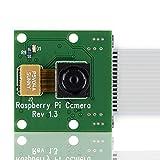 KOOKYE Modulo Telecamera 5 MP REV 1,3 Webcam Video 720p Fast 1080p per Raspberry Pi