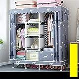 Closet Storage Closet Clothes Portable Armario Durable Armario Gerente de Almacenamiento Oxford Almacenamiento Rack Gran Armario Portátil Mejorado Closet Wardrobe Closet Organizer Shelf Wardrobe
