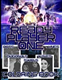 Ready Player One Lines Waves Diagonals Swirls Dots Coloring Book: Ready Player One High-Quality An Adult Spirograph Styles Colouring Book (Activity Book Series)