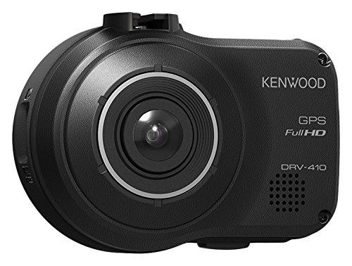 Kenwood DRV-410 Full-HD-Dashcam mit integriertem GPS und Fahrassistenzsystem schwarz