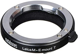 METABONES Lens Adapter compatible with Leica M and Sony E-mount (E-mount/NEX Adapter) (Black Satin)