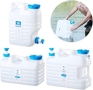QUUY Envase Plegable del Agua Que acampa, Cubo portátil