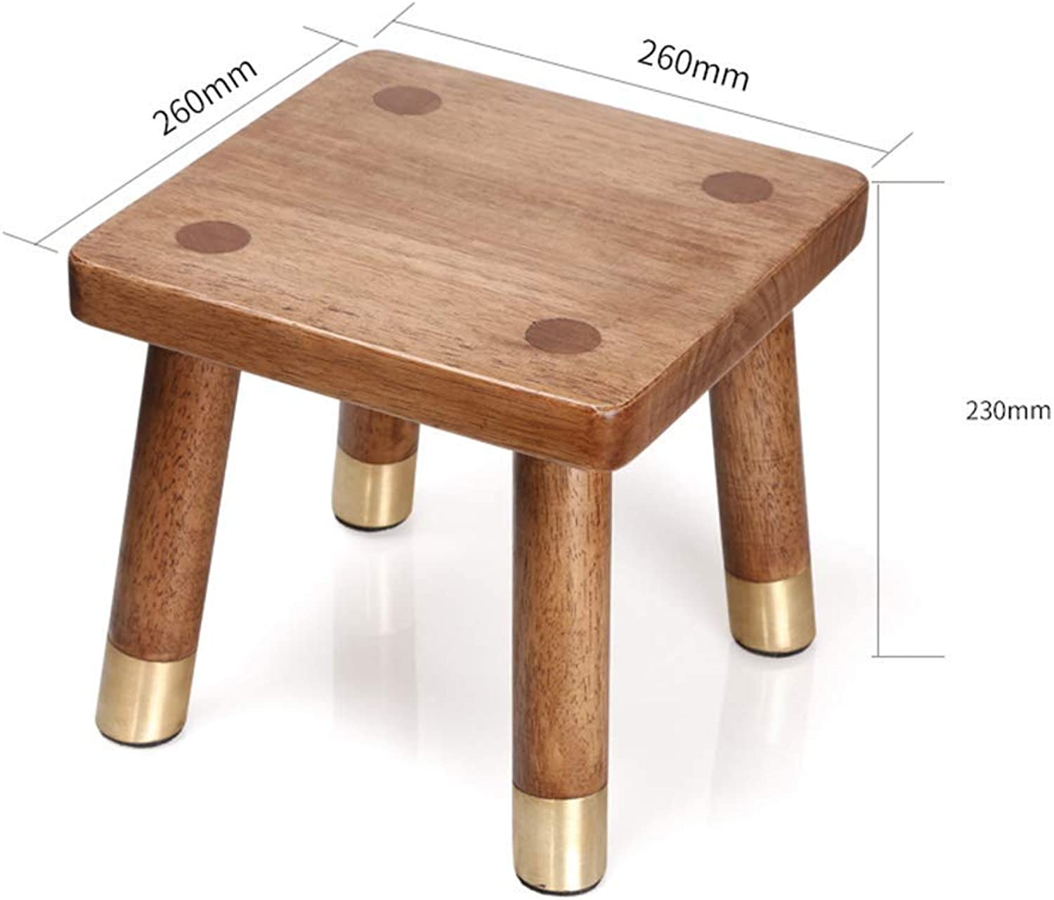 JZX Footstool, shoes Bench, Sofa Bench, shoes Bench, Solid Wood Home Multi-Function Stool