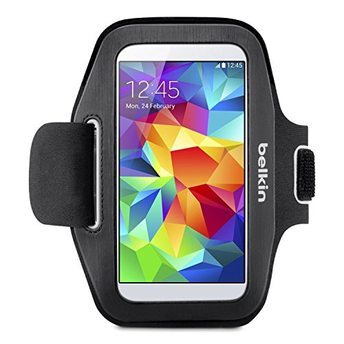 Belkin Sport-Fit Armband for Samsung Galaxy S5 / S4 / S4 Active / S3 (Black)