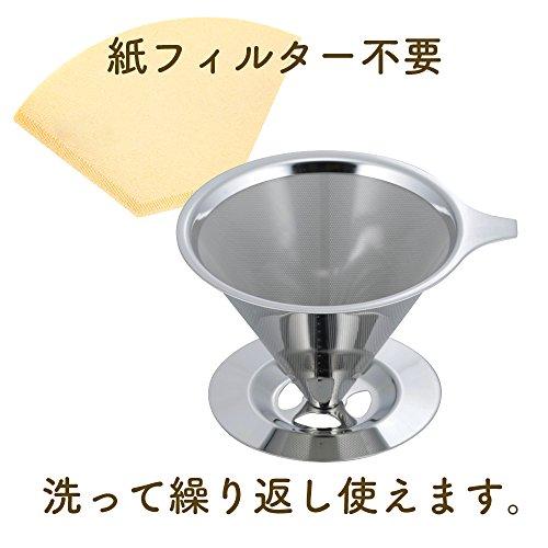 和平フレイズドリッパーコーヒーマイチョイスカフェステンレスフィルターRD-0089