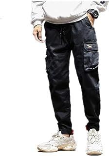 Men's pants Jogging Pants Low Crotch Drawstring Baggy Hip Hop Trousers casual pants for men