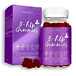 ✔ 5HTP GUMMIES - Our 5 HTP gummies infused with Magnesium, L-Theanine and Vitamin B12, Vitamin B5, Glycine, Acerola Cherry Extract, L-Taurine combine the highest purity of 5 HTP (from Griffonia Seed Extract), L-theanine (from Green Tea Extract) to gi...
