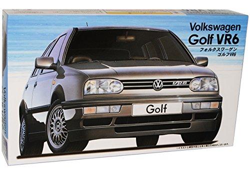 Fujimi Volkwagen Golf iii 3 Vr6 Vr 6 Schwarz Bausatz Kit 1/24 Modellauto Modell Auto