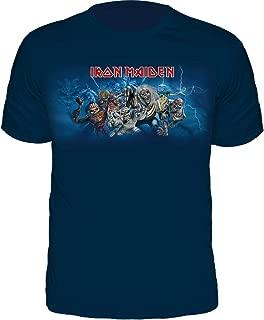 Camiseta Iron Maiden Fiery Ed Spread