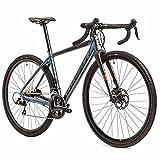 Airtracks Herren Gravel Bike 28 Zoll Gravel Fahrrad Drag 5.0 Shimano SORA R3000 18 Gang - UD Carbon Gabel- Rahmenhöhen 52cm und 55cm - Modell 2021 (55cm (Körpergröße 175-188cm))