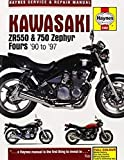 Kawasaki ZR550 & 750 Zephyr Fours (90-97) (Haynes Service & Repair Manual)