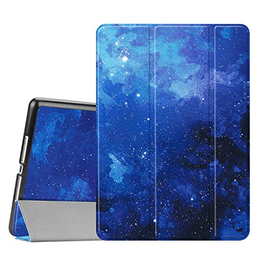 FINTIE SlimShell Case for iPad 9.7 2018 2017 / iPad Air 2 / iPad Air - Lightweight Standing Cover, with Auto Wake/Sleep for iPad 6th / 5th Gen, iPad Air 1/2, Starry Sky