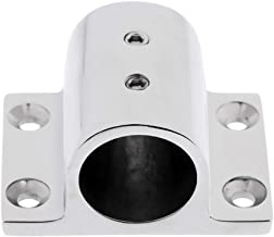 Marine Boat Hand Rail Fitting Stainless Steel 90 Degree Rectangle Stanchion Base Fit for Kayak Base Mount Fitting