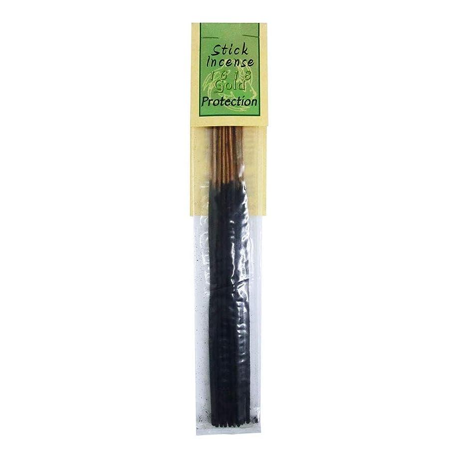 影のある決めます電気的お香 1618 Gold Protection プロテクション スティックインセンス 魔法のお香