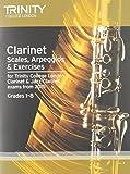 Clarinet & Jazz Clarinet Scales, Arpeggios: Grades 1-8 from 2015 (Woodwind Exam Repertoire)