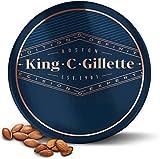 King C. Gillette Bartbalsam mit Sheabutter, Arganöl, und Kakaobutter für ideale Bartpflege, Beard Balm, 100 ml