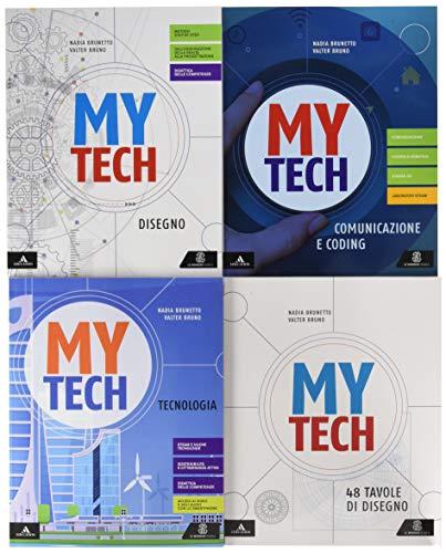 Mytech. Tecnologia. Per la Scuola media. Con e-book. Con espansione online. Con 4 libri: Atlante-Disegno-Coding-Tavole