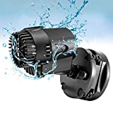 AQQA Wave Maker Pump, 530GPH Aquarium Circulation Pump 360 Degree Rotatable Submersible Powerhead Pump with Magnet Suction Base for Marine and Freshwater Aquariums Fish Tank
