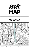 Málaga Inkmap - maps for eReaders, sightseeing, museums, going out, hotels (English) (English Edition)