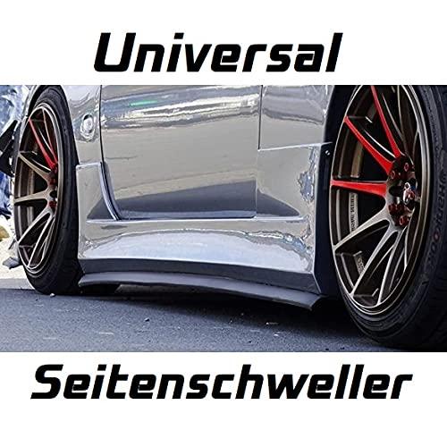 SEKER® Spoiler laterale universale per soglia laterale, per tuning, fai da te, JDM DRIFT RACING EZ-LIP