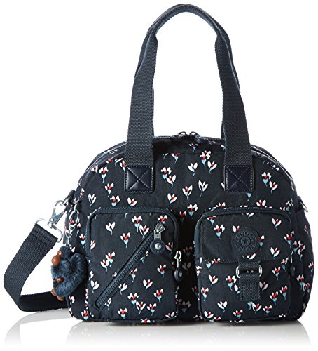 Kipling - Defea, Bolso Mujer, Mehrfarbig (Small Flower), One Size