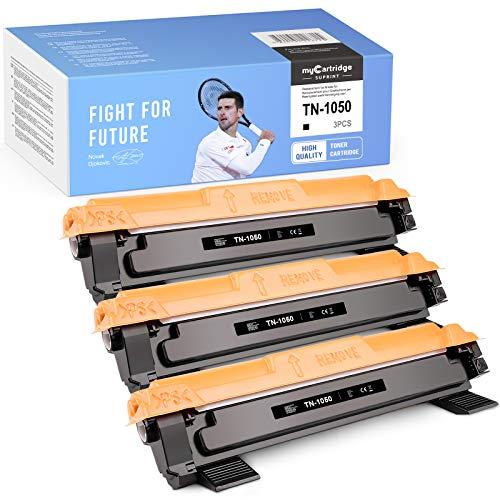3 cartucce myCartridge SUPRINT compatibili TN-1050 Nero Toner di ricambio per Brother TN-1050 per Brother DCP-1510 DCP-1610W DCP-1612W HL-1110 HL-1112 DCP-1512 HL-1210W HL-1212W MFC-1910W MFC-1810