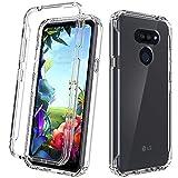 Dahkoiz Case for LG Premier Pro Plus/LG Xpression Plus 3/LG Harmony 4/LG K41 Case, See-Through Clear Crystal TPU Bumper Cover Slim Shockproof Protective Phone Case for LG Harmony4/LG K40S, Clear