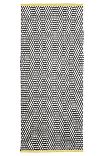 Jute & Co, Nizza, Tappeto, Marrone, 57 x 135 cm