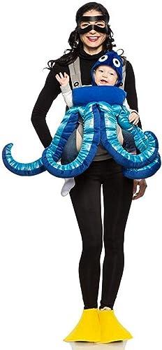 bajo precio del 40% Seeing rojo Inc Scuba Diver and Octopus Mommy Mommy Mommy & Me Costume  están haciendo actividades de descuento