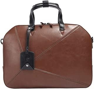 Men's Clutch Business Cross-Length Shoulder Bag (Color : Brown, Size : S)