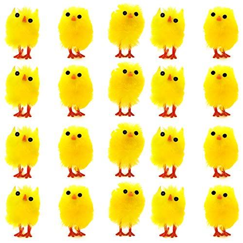 THE TWIDDLERS 36 Mini Pulcini Giocattolo Pasquali Soffici - Adorabili e Carinissimi, Perfetti per la Tavola e Le Decorazioni per la Pasqua, Caccia Tesoro, Idea regalini fine Festa para Bambini