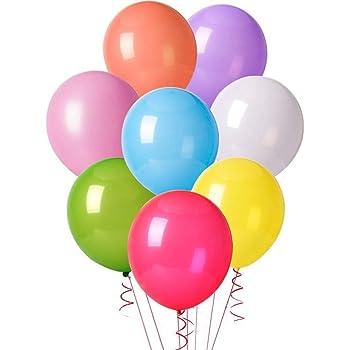 ocballoons - Globos de látex de 30 cm - Colores Surtidos - Paquete ...