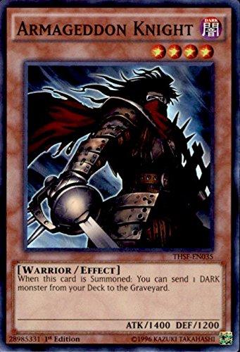 Yu-Gi-Oh! - Armageddon Knight (THSF-EN035) - The Secret Forces - 1st Edition - Super Rare