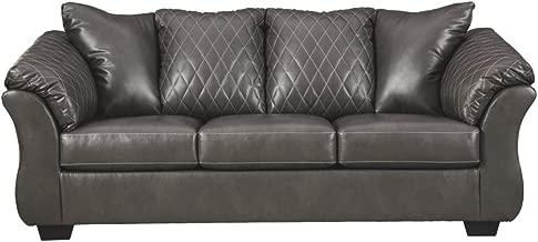 Amazon.com: sleeper sofa leather queen