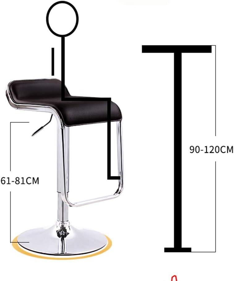 Tabouret de bar de petit déjeuner Tabouret de bar, fauteuil rétro simple, chaise d'hôtel (Couleur : A) G