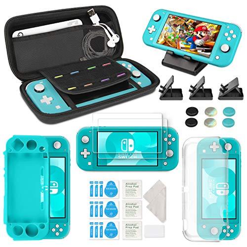 Keten Ensemble D'accessoires 12 en 1 pour Nintendo Switch Lite, Étui de Nintendo Switch Lite