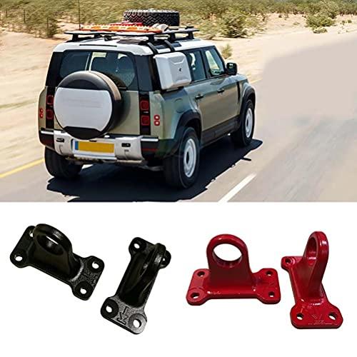 2 uds gancho de remolque de enganche de remolque de hierro fundido de rescate para Land Rover Defender 2020 2021