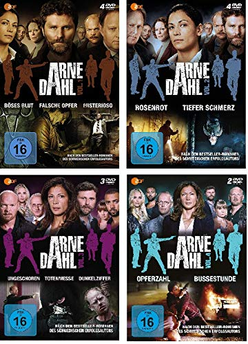 Arne Dahl - Volume 1+2+3+4 im Set - Deutsche Originalware [13 DVDs]