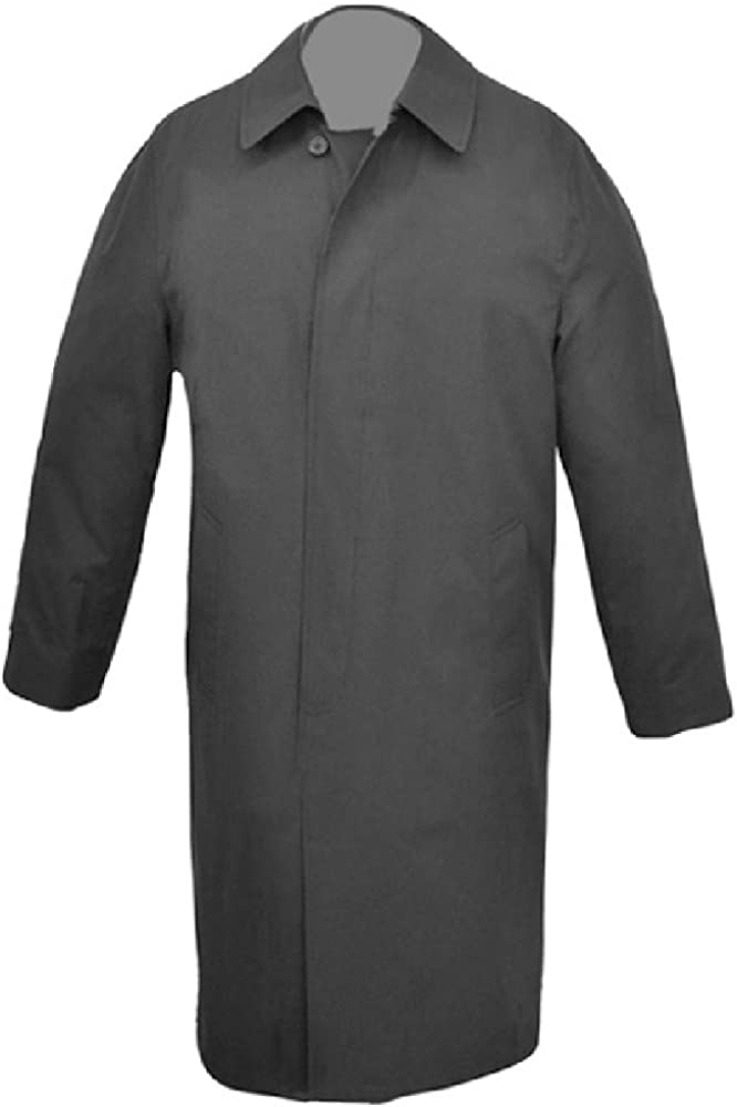 Big and Tall USA Made Classic Breasted Rain Trench Limited time trial price t Regular discount Coat Single