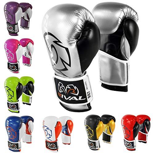 Rival boxing-rb7fitness & guantoni, Silver / Black