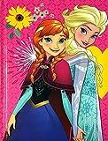DIARIO SCUOLA Frozen regina dei ghiacci e Anna standard originale 21x15cm 2021/2022 + OMAGGIO PENNA paillettes 6 in 1 + portachiave paillettes