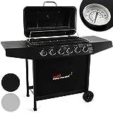Broil-master BBQ–Barbecue a Gas con 6bruciatori, in Nero o Argento con...