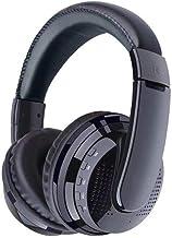 Auriculares Gaming Plegable Bluetooth manos libres del oído-gancho ajustable Gaming Headset con micrófono Auriculares inalámbricos for juegos para entusiastas del juego ( Color : Black , Size : M )