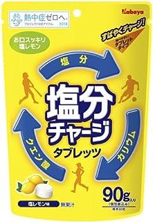 塩分チャージ タブレッツ 塩レモン 90g (塩レモン)