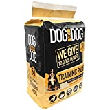DOG for DOG Puppy Pads - Instant Gel, Super Absorbent, Tear-Resistant Pee Dog Training Pads for Dogs - Pet Weewee Pads -Odor Neutralizing with Leak Protection for Puppies - 22x22 in (50 Pack)