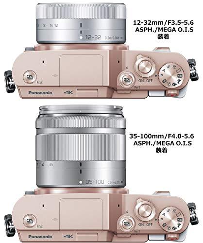 パナソニックミラーレス一眼カメラルミックスGF10ダブルレンズキット標準ズームレンズ/望遠ズームレンズ付属ホワイトDC-GF10WA-W
