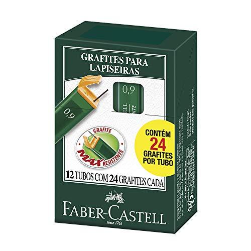 Grafite 0.9mm 2B 12 Tubos de 24 cada, Faber-Castell